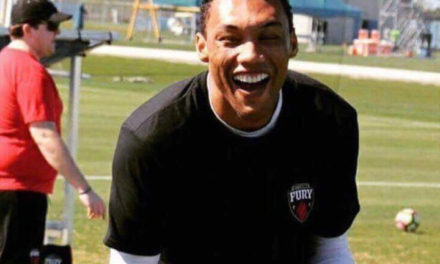 "STEEVAN DOS SANTOS ""DUBA"" Strikes Again For Ottawa Fury FC"