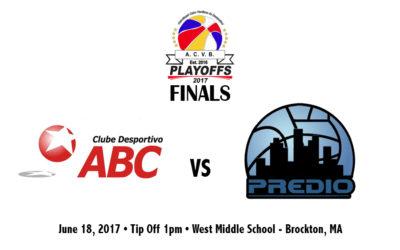 ACVB 2017 Finals: Clube Desportivo ABC vs PREDIO