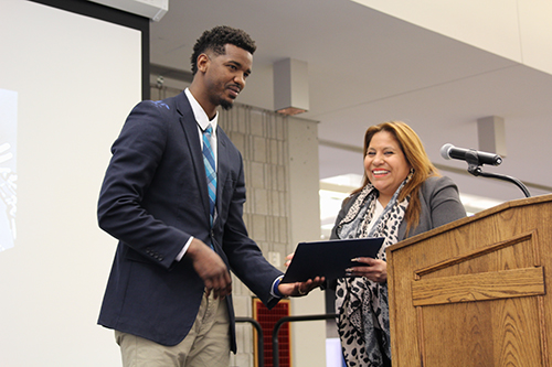 Clayton Timas honored as the 2018 Distinguished African American Alumnus of the Year
